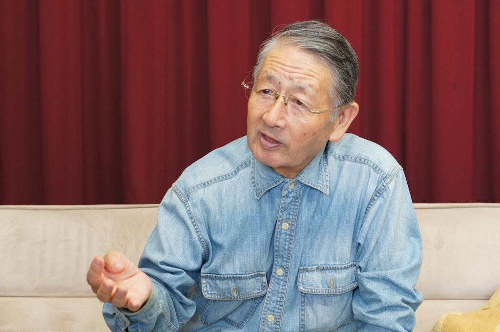 好齢ビジネスパートナーズ世話人の堀池喜一郎さん