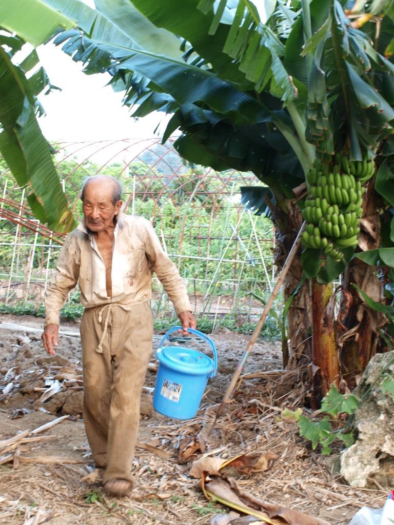 103歳になる得本維宗夫さん(祖父)